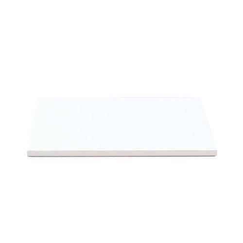 Cake Board 25x25cm quadratisch - Weiß