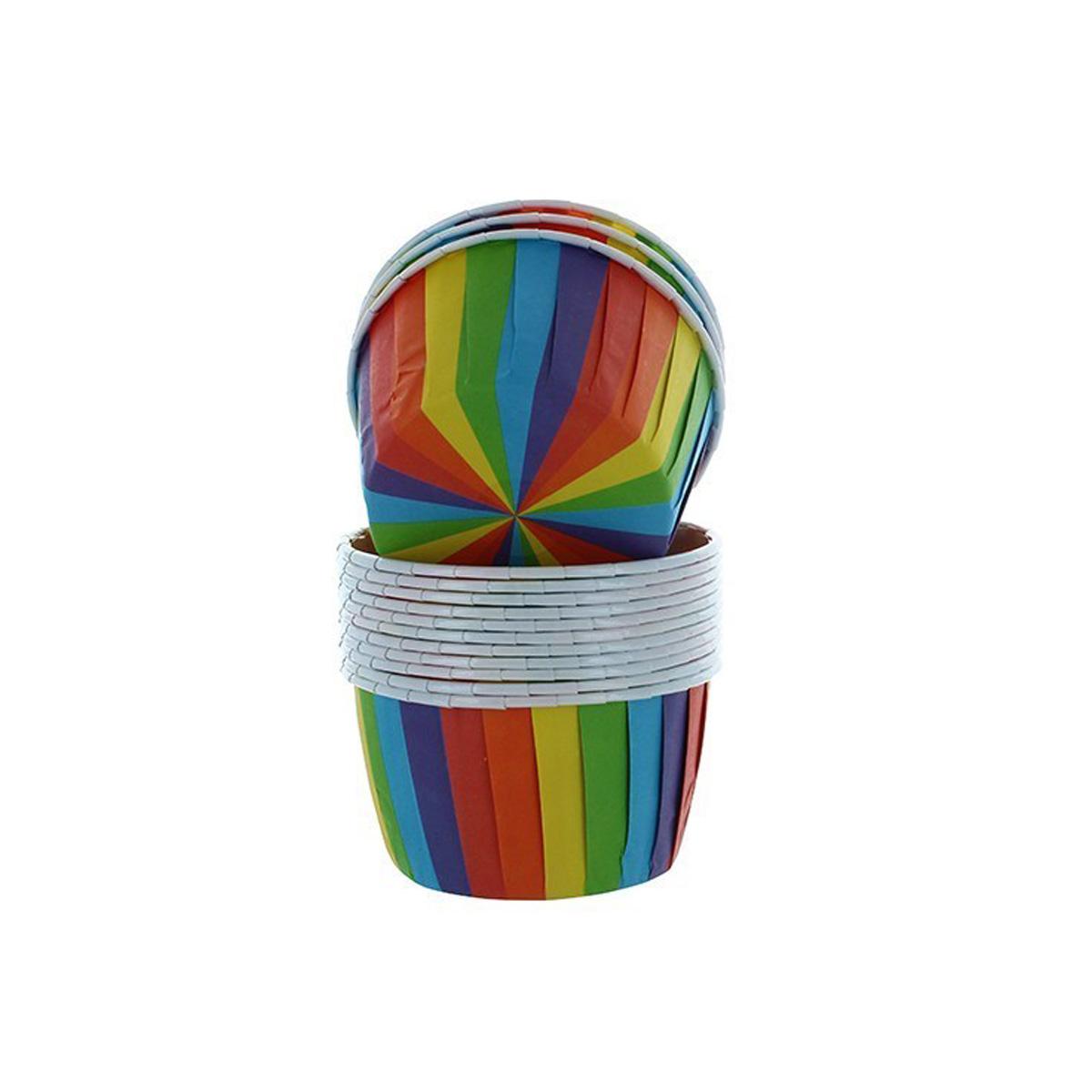 Culpitt Baking Cups Rainbow  - Regenbogen 24 Stk