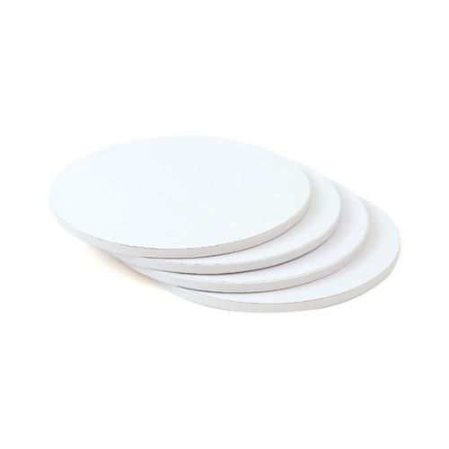 Cake Board 30cm Rund Weiß