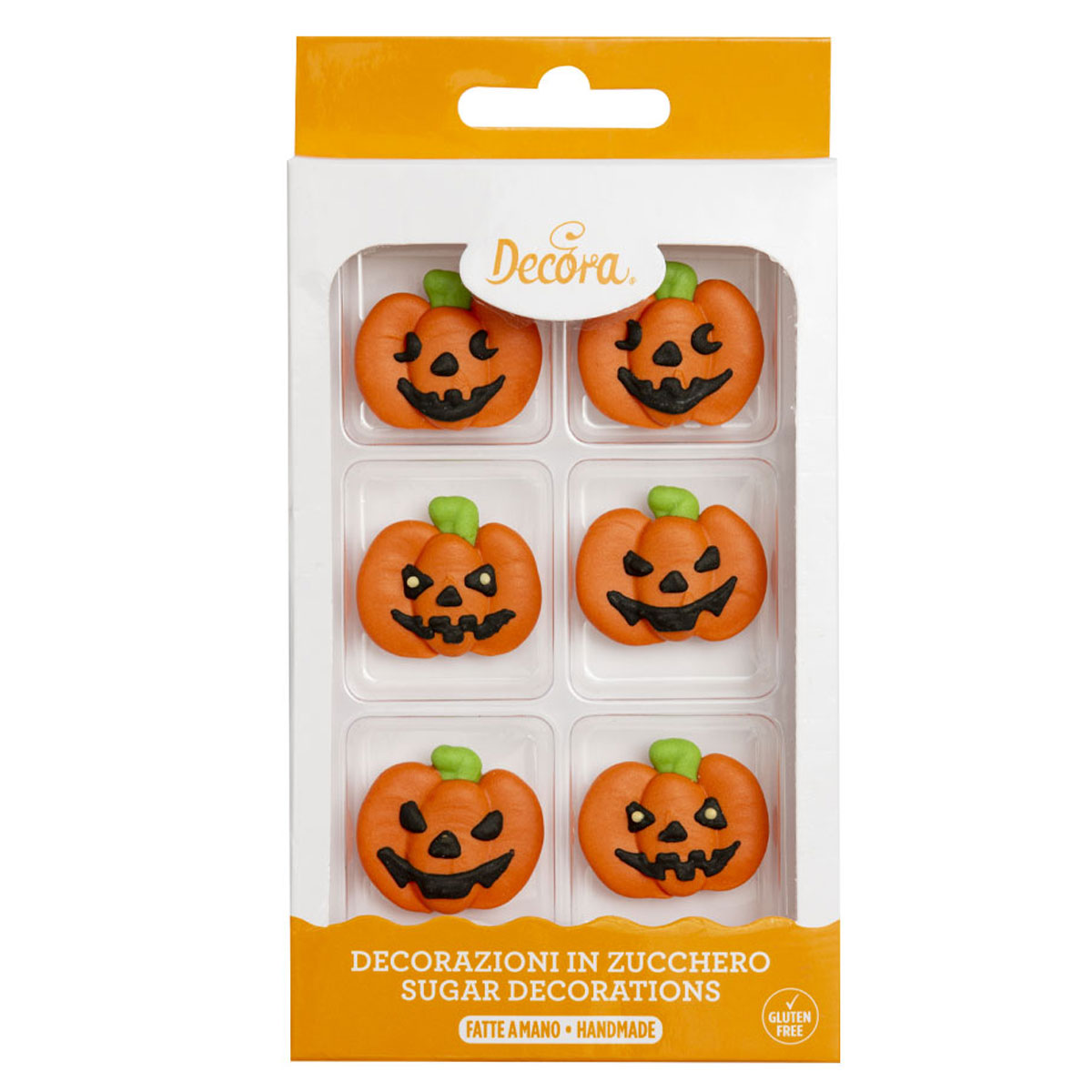 Decora Zuckerdekoration Pumpkin - Kürbis
