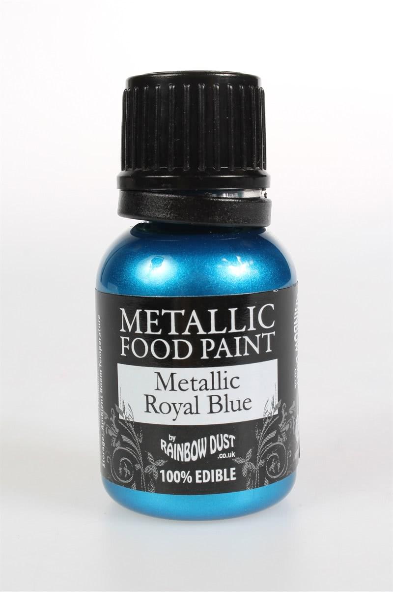 RD Food Paints – Metallic Royal Blue