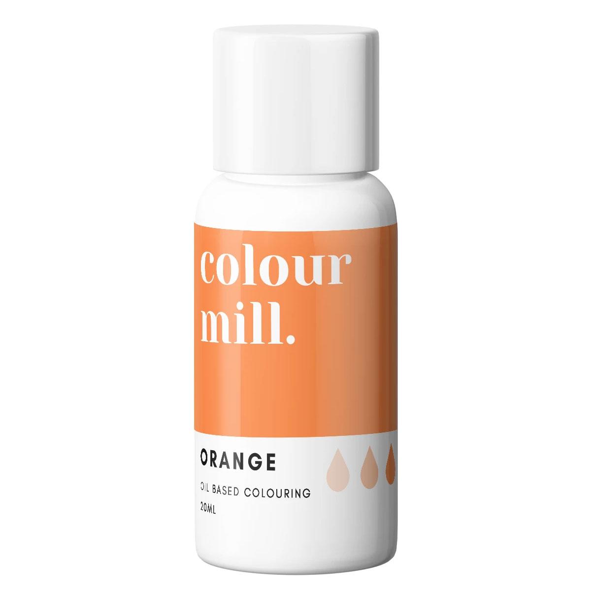 Colour Mill fettlösliche Lebensmittelfarbe - Orange 20ml