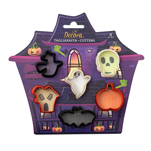 Decora Ausstecher Halloween Mini 6 teilig