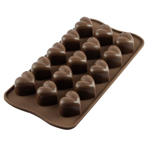 Silikomart Chocolate Mould - Herzen
