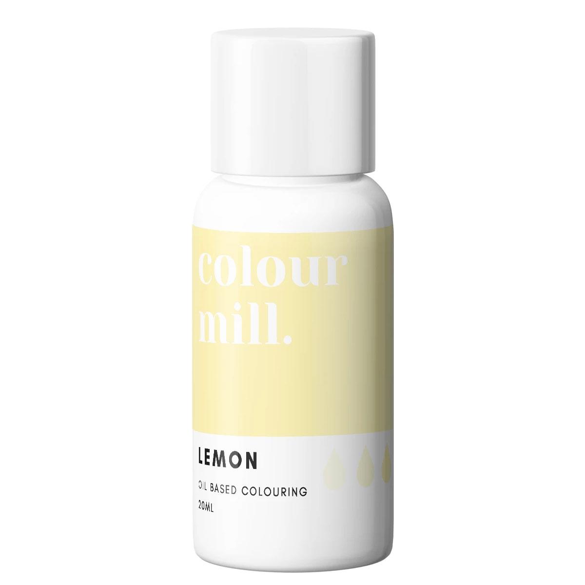 Colour Mill fettlösliche Lebensmittelfarbe - Lemon 20ml