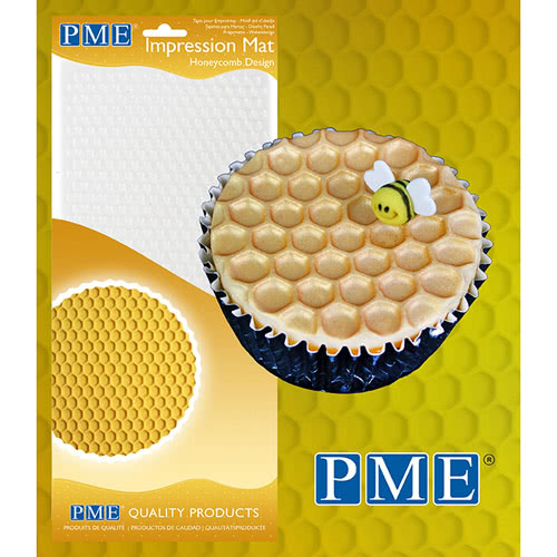 PME Prägematte Honigwaben