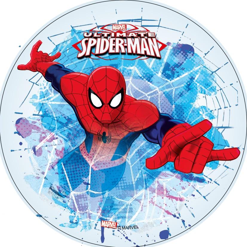 Tortenaufleger Esspapier  - Spiderman Motiv 3