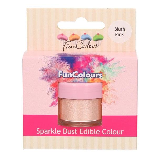 Funcakes Edible Sparkle Dust - Blush Pink