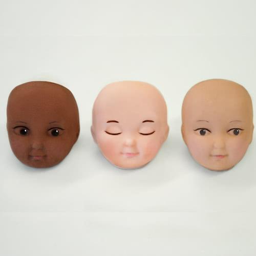 Katy Sue Design - Silikonform Gesicht Set A
