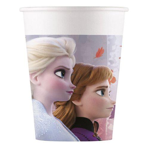 Papierbecher  Frozen 2 - 8 Stück