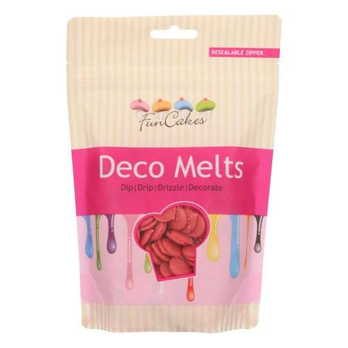 Funcakes Deko Melts - Rot 250g