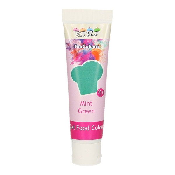 FunCakes Edible FunColours Gel - Mint Green