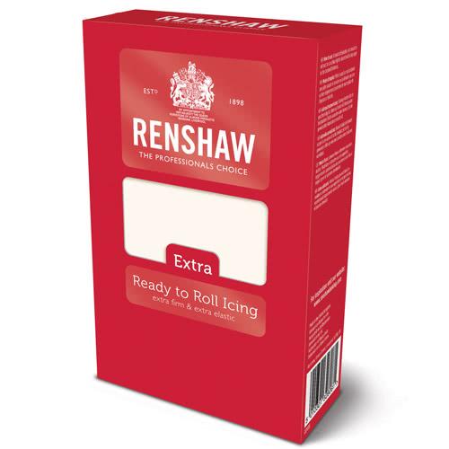 Renshaw Rollfondant Extra - White 1Kg