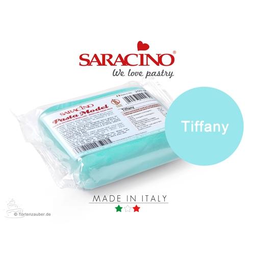 Saracino Modellierpaste - Tiffany Blau 250g