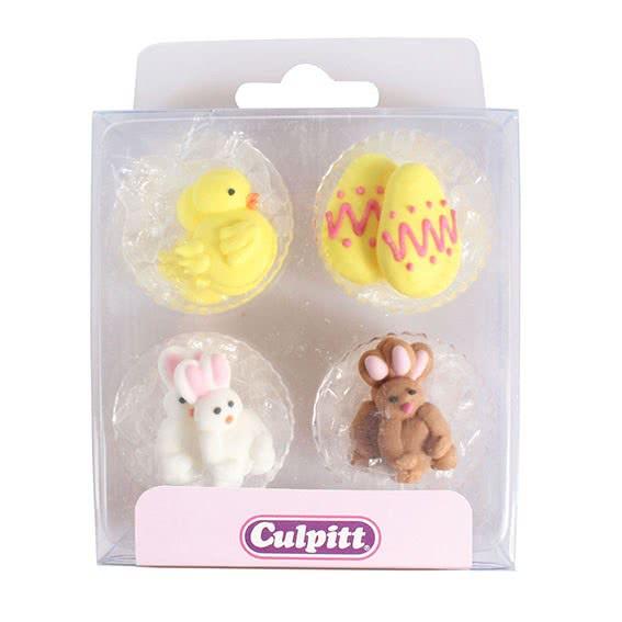 Culpitt Zuckerdeko Ostern - Küken und Hase
