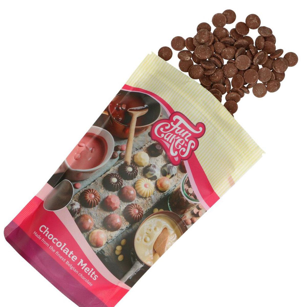 FunCakes Chocolate Melts Milchschokolade 350 g