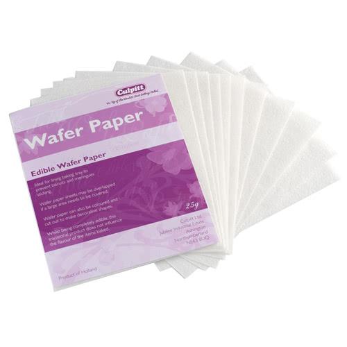 Culpitt Waffelpapier - Wafer Paper 17x14cm