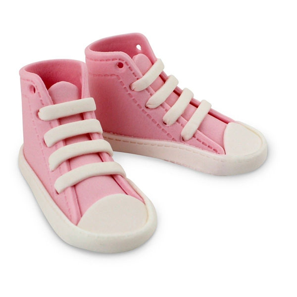PME Edible Cake Topper High Cut Sneaker - Pink
