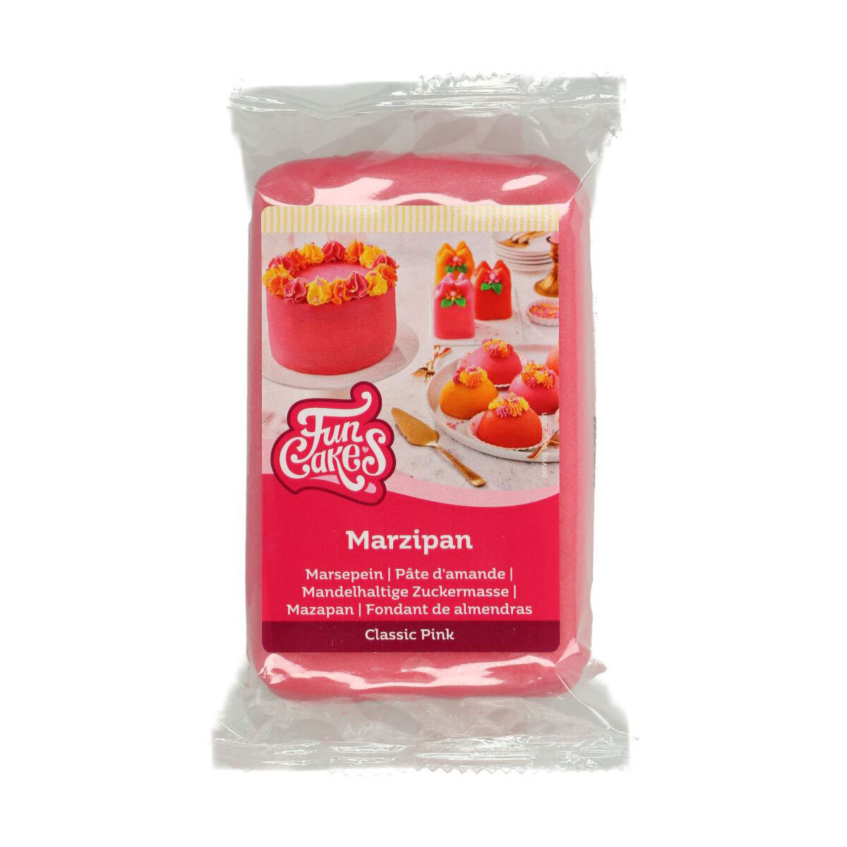 FunCakes feines Marzipan Classic Pink 250 g