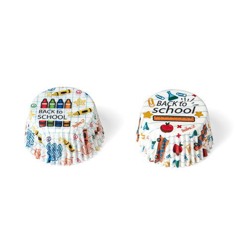Decora Cupcake Papierbackförmchen Einschulung 36 Stück