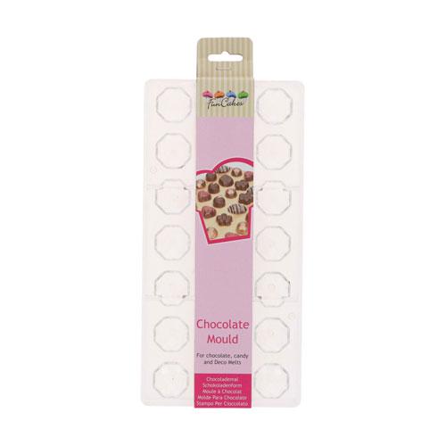 Funcakes Schokoladenform Praline - Diamant