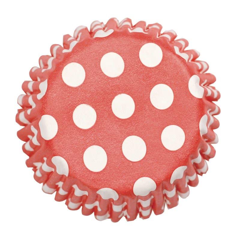 Culpitt Cupcake Förmchen Red 54 Stück