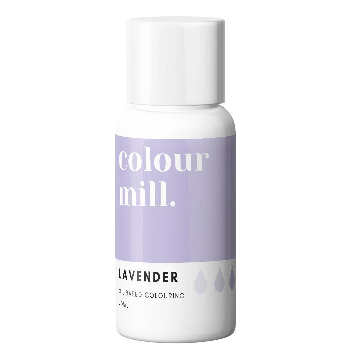 Colour Mill fettlösliche Lebensmittelfarbe - Lavender 20ml