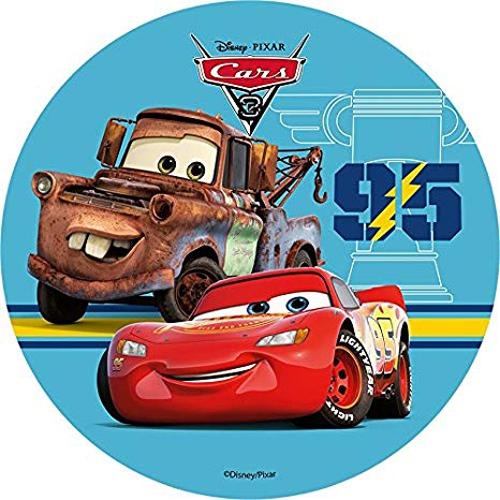 Tortenaufleger Esspapier  - Cars Motiv 3