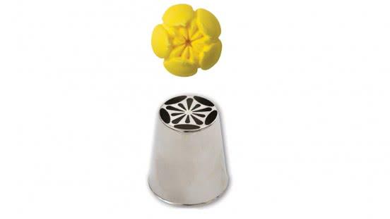 Spezial- Spritztuelle Garniertülle Nr.241 - Tulpe