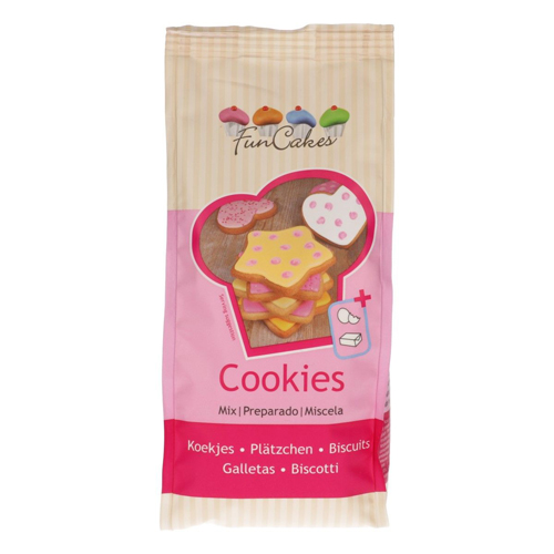 Funcakes Backmischung für Kekse - Cookies 500g