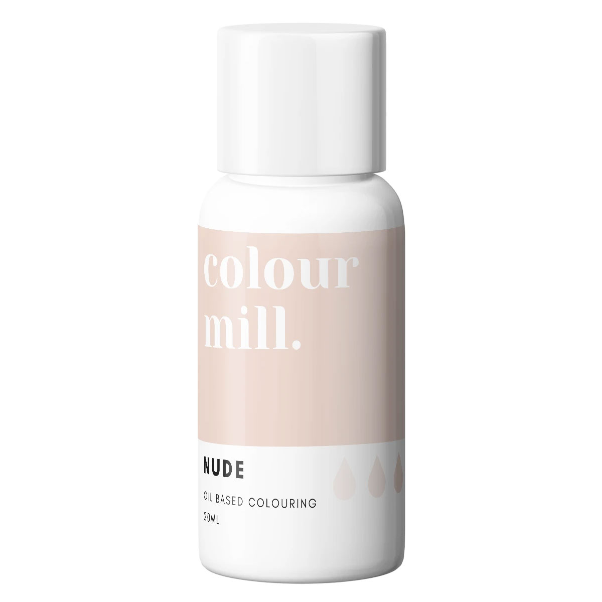 Colour Mill fettlösliche Lebensmittelfarbe - Nude 20ml