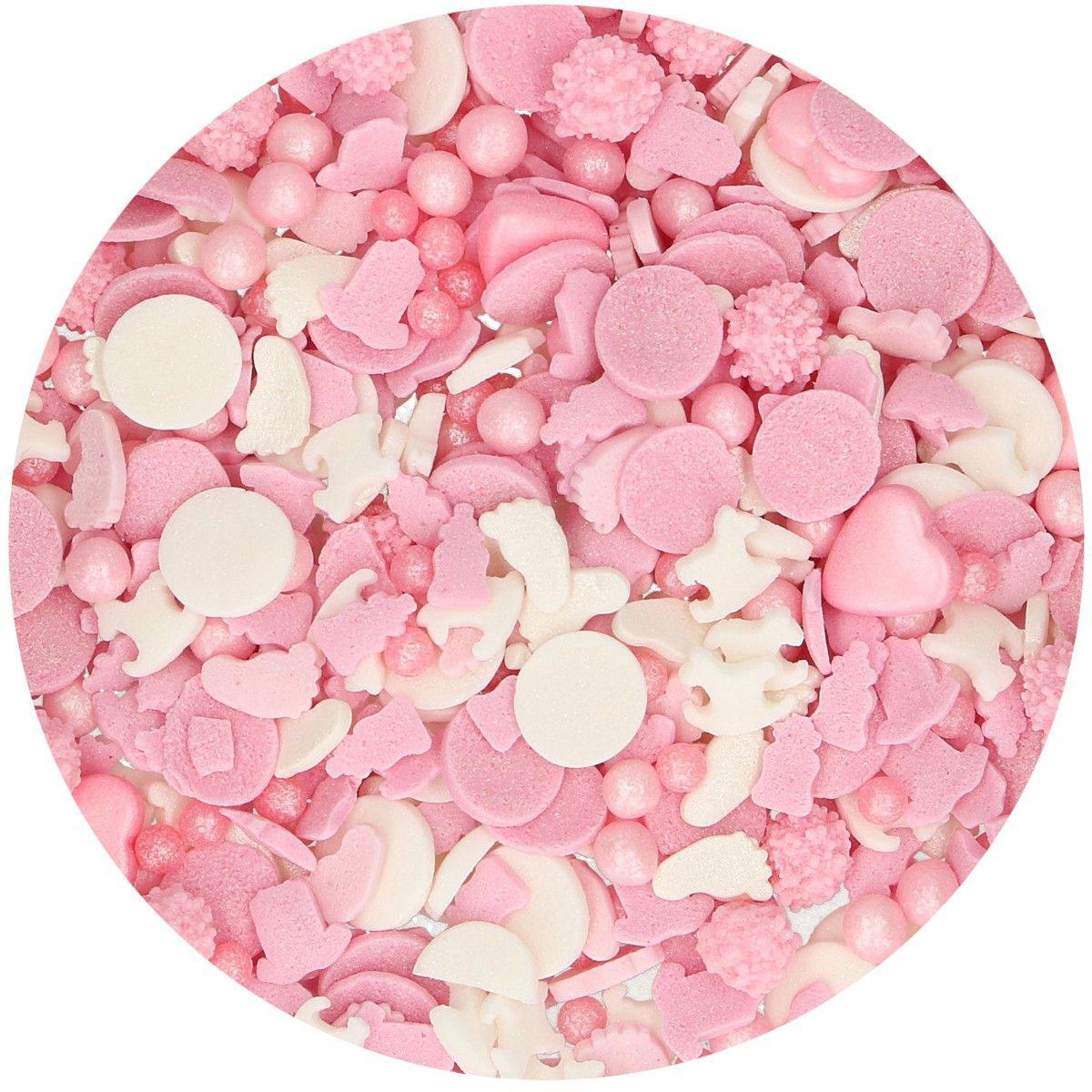 Funcakes Sprinkles Medley - Baby Girl 180g