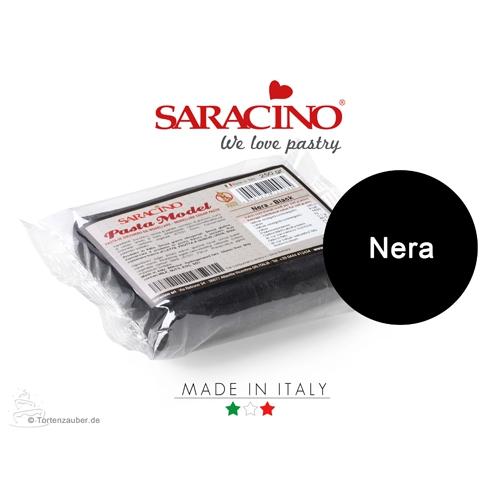 Saracino Modellierpaste - Schwarz 250g
