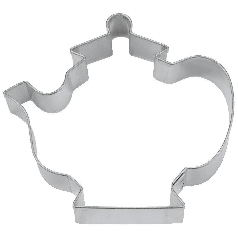 Ausstecher Teekessel 6 cm Edelstahl
