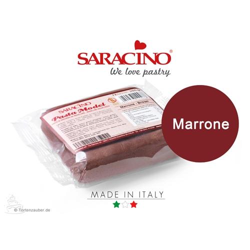 Saracino Modellierpaste - Braun 250g