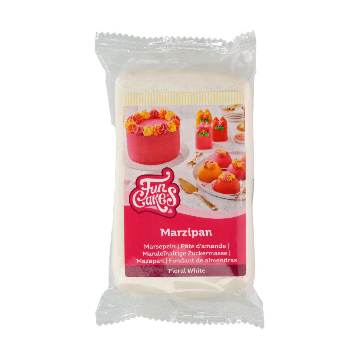FunCakes feines Marzipan Weiß 250 g