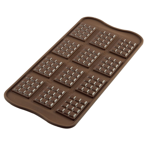 Silikomart Silikonform für Schokoladentäfelchen
