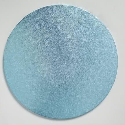 "Cake Board 12"" 30cm Rund Baby-Blau"