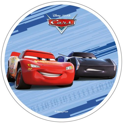 Tortenaufleger Esspapier  - Cars Motiv 6