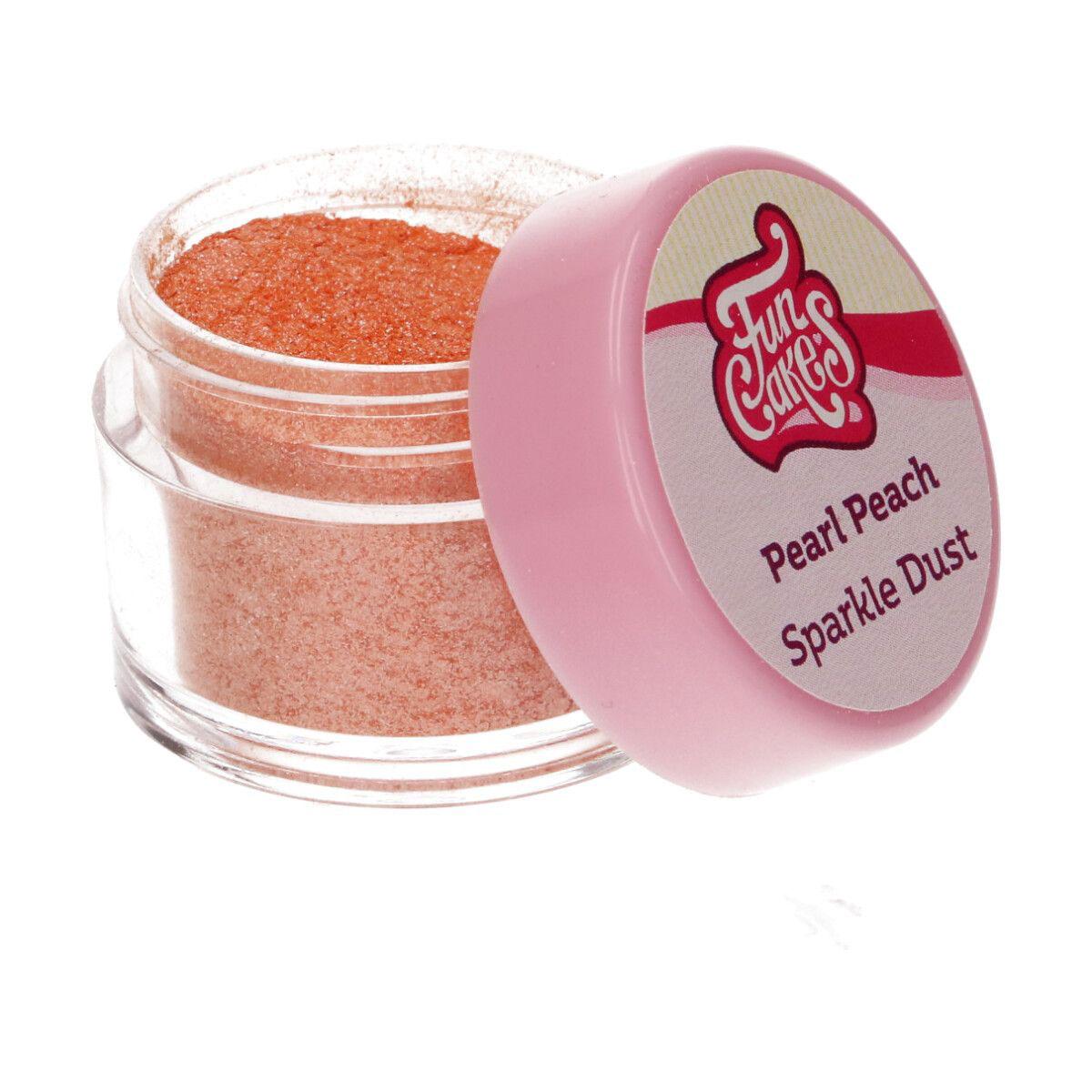 Funcakes Edible Sparkle Dust - Pearl Peach