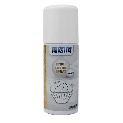 PME edible Lustre Spray - White 100ml