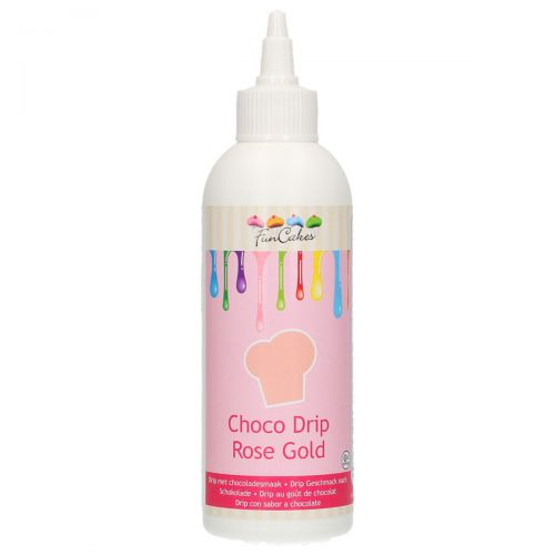 Funcakes Choco Drip Pearl - Rosegold 180g