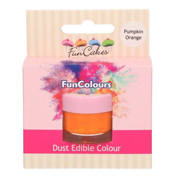 Funcakes Edible FunColours Dust - Pumpkin Orange