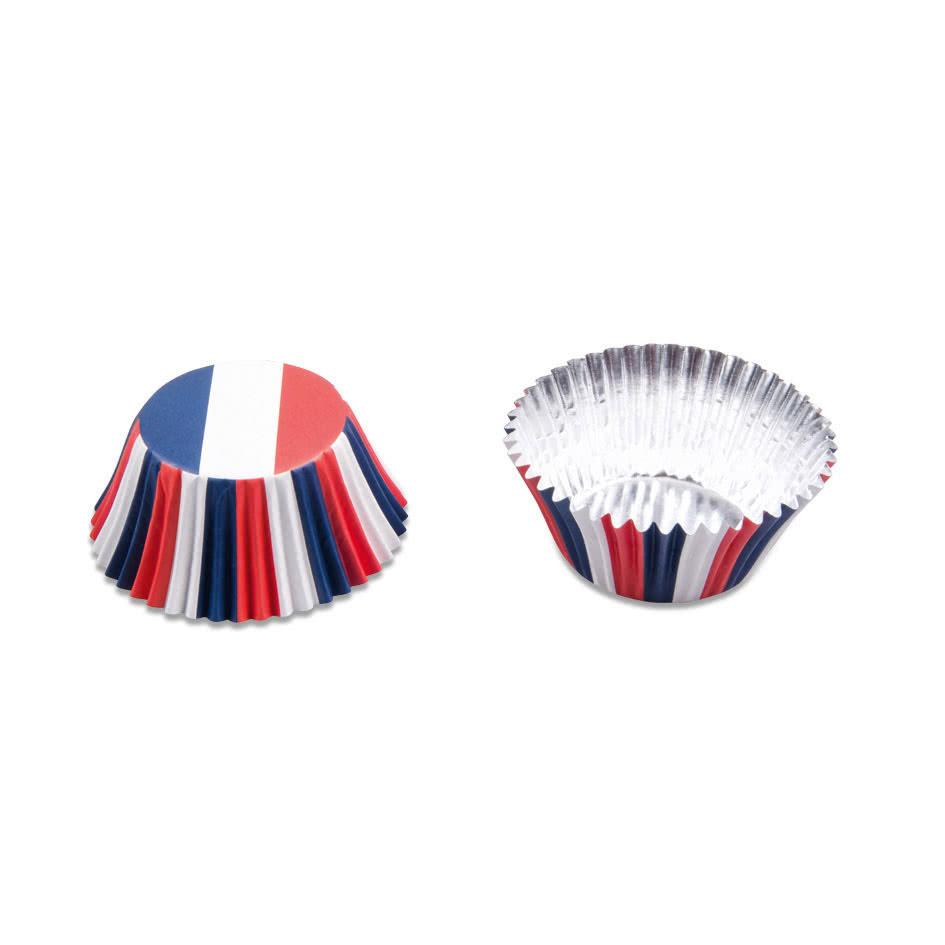 Cupcake Papier-Backförmchen Frankreich 50 Stück
