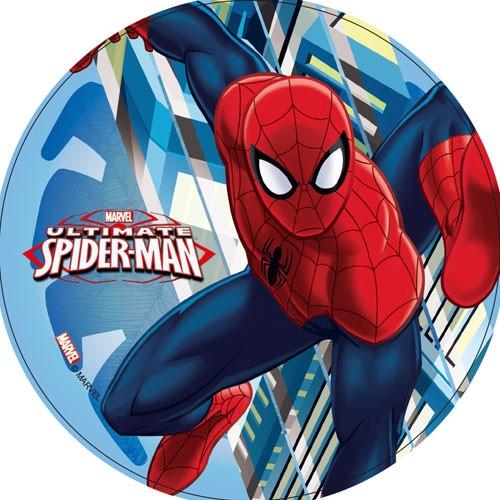 Tortenaufleger Esspapier  - Spiderman Motiv 4