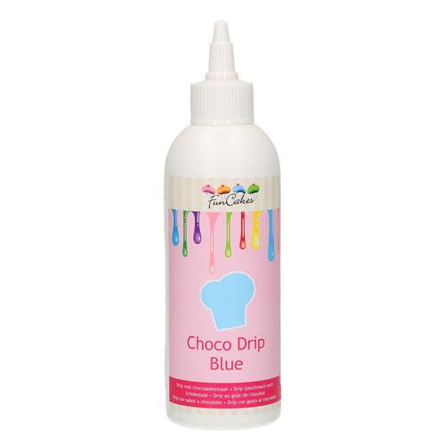 Funcakes Choco Drip - Blau 180g