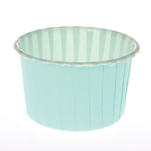 Culpitt Baking Cups Aqua / Green 24 Stk