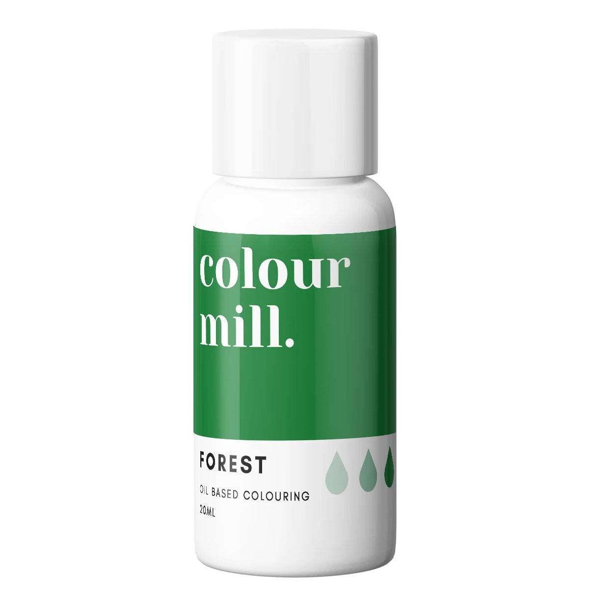 Colour Mill fettlösliche Lebensmittelfarbe - Forest 20ml
