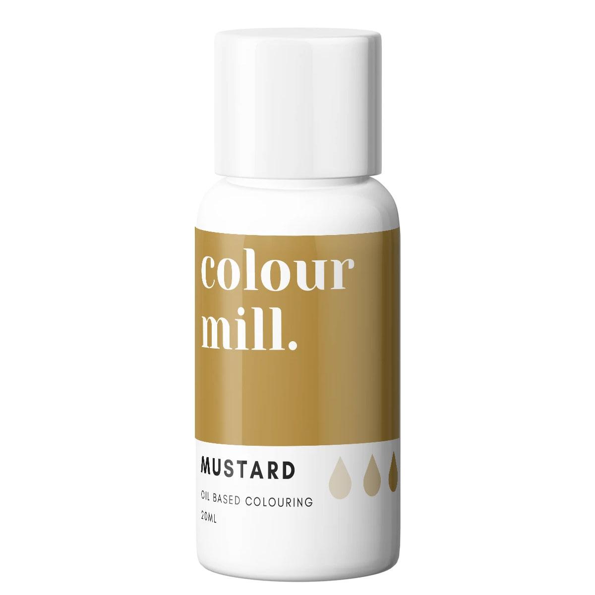 Colour Mill fettlösliche Lebensmittelfarbe - Mustard 20ml