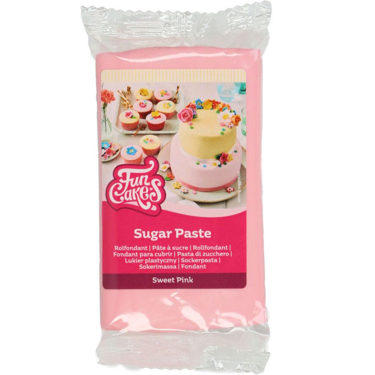 FunCakes Fondant Sweet Pink - 250g